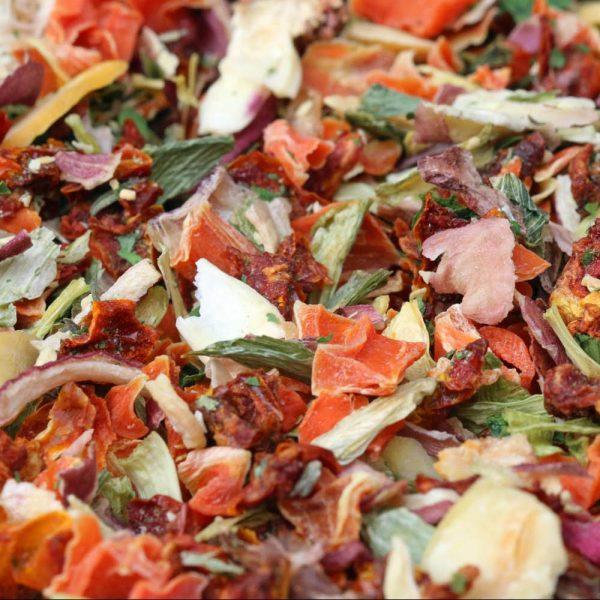 Court-bouillon aux petits légumes sans sel de Ré