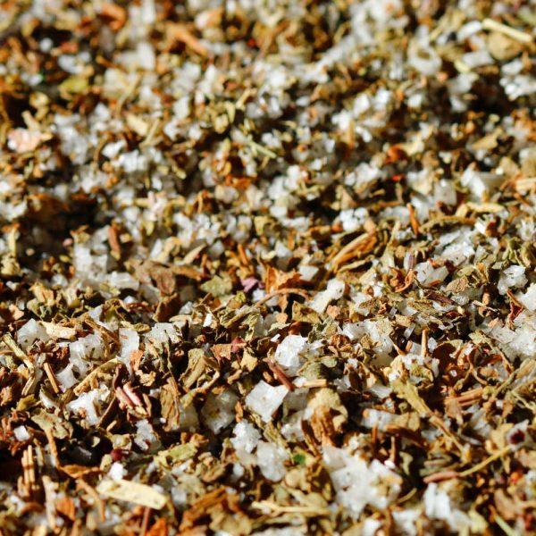 Fleur de sel de l'Île de Ré au basilic