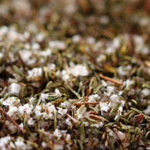 Fleur de sel de l'Île de Ré au thym