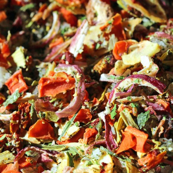 Sel marin de l'Île de Ré court-bouillon, légumes