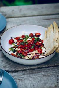 Salade de thon tomates et algues